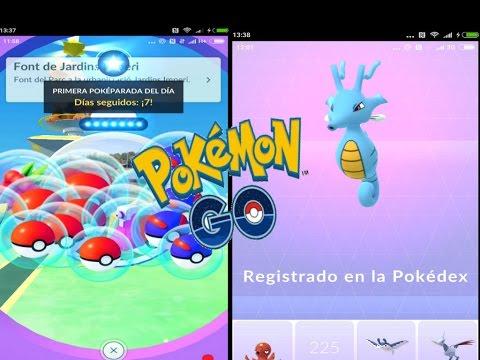 POKEPARADA DÍA 7! PRIMER OBJETO Y EVOLUCIÓN DE KINGDRA! [Pokémon GO-davidpetit]