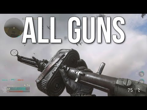 Call of Duty: WW2 Multiplayer Gameplay (ALL GUNS & INSPECTIONS)