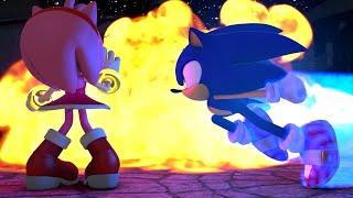Скачать Sonic Saves Amy From Blaze MEGA X