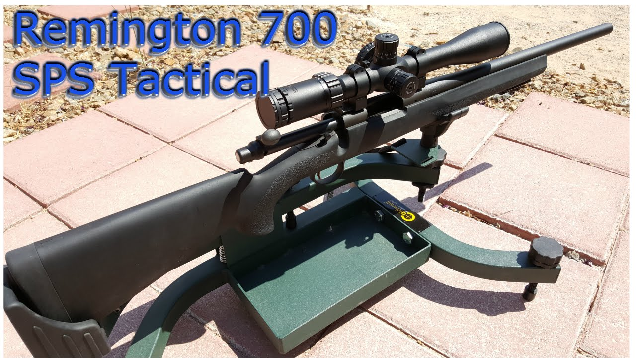 Shooting Review Remington 700 Sps Tactical