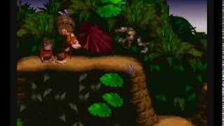 Donkey Kong Country 1 (SNES) - LP3E1: Ass-kissing