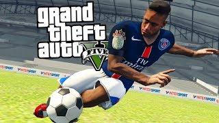 GTA 5 LIVING MODE FROM FOOTBALLER ⚽1 # - NEYMAR JR. GO TO PSG - [LEAVE BARCELONA]