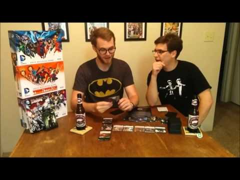 Let's Play DC Deck Building ARROW Crossover | Comic Chat with Gat