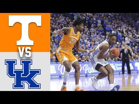 Tennessee Vs #6 Kentucky Highlights 2020 College Basketball