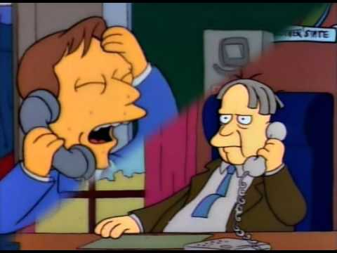 A Littlle Girl Is Losing Faith In Democracy! (The Simpsons)