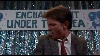 """Эпизод из фильма """"Назад в будущее"""" 1985 Michael J. Fox -""""Johnny be good"""""""