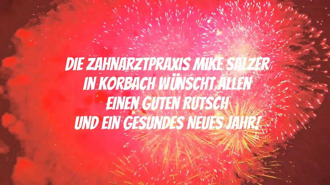 Silvester/ Neujahr - Glückwünsche von Zahnarzt Salzer in Korbach ...