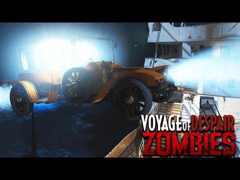 VOYAGE OF DESPAIR: FLYING CAR EASTER EGG GUIDE! (Black Ops 4 Zombies Easter Egg)