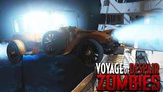 VOYAGE OF DESPAIR: FLYING CAR EASTER EGG GUIDE! (Black Ops 4 Zombies Easter Egg)