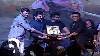 Ram Charan distributing Momentos to Cast and crew in a style @Rangasthalam 100 Days Celebrations