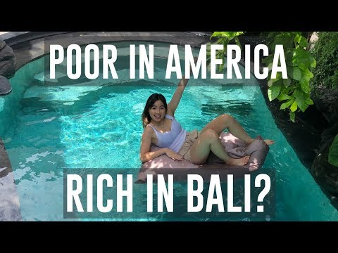 How far can $20 go in Bali? This will shock you..
