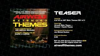 AIRWOLF Extended Themes CD1 Track 6 Teaser - Airwolf Theme Season 1 Synth Theme