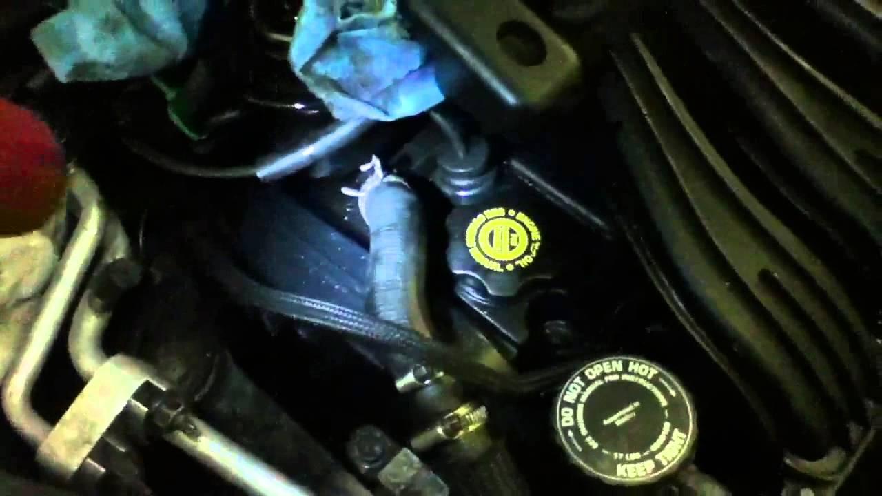 Transmission Fluid Flush >> 2001 PT Cruiser power steering fluid flush ATF+4 ; fault ...