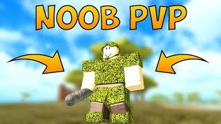 NOOB PvP's FOR THE FIRST TIME! | Roblox