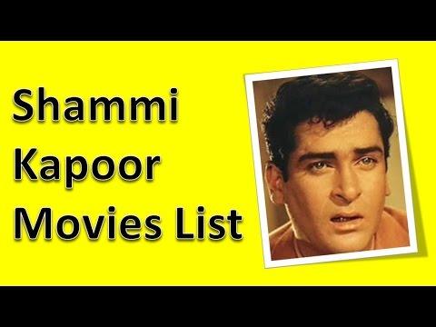 Shammi Kapoor Movies List