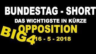 Opposition Heute : Göring-Eckardt, Wagenknecht, Lindner, Weidel - HD AFD FDP LINKE GRÜNE