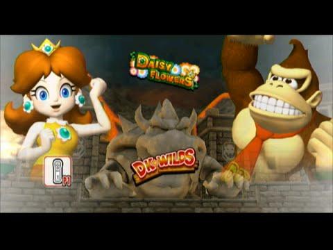 Mario Super Sluggers | Daisy vs DK @ Bowser Castle