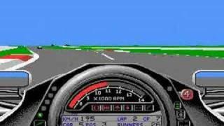 Formula one Grand Prix - Racing. Commodore Amiga.