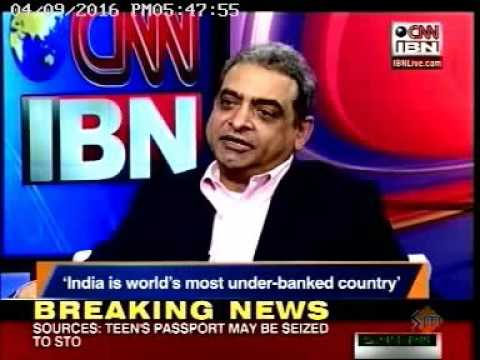 Premkumar Seshadri from HCL Infosystems on Leader Talk, CNN-