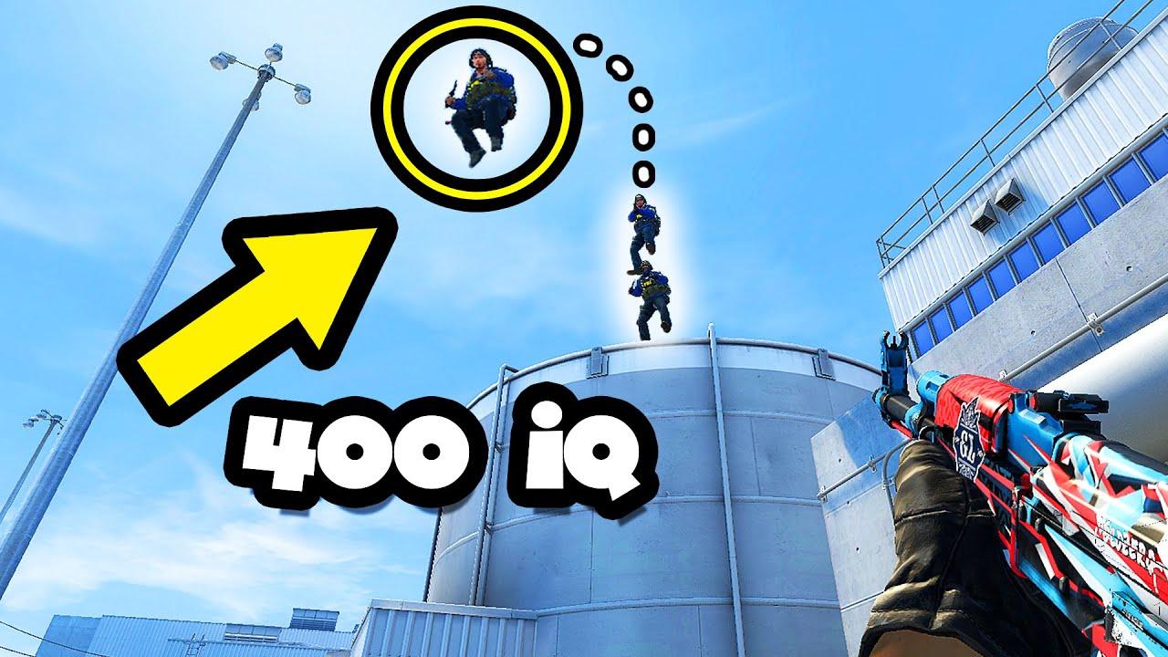 400 IQ BEST TEAMPLAY TRICKS! - CS:GO BEST ODDSHOTS #455