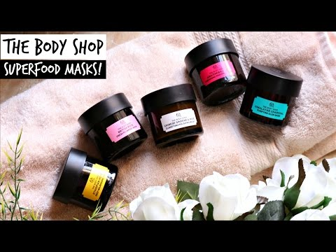 The Body Shop Superfood Face Masks | corallista