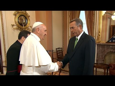 Special Report: Pope Francis arrives at the Capitol, meets with Boehner