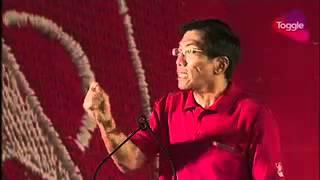GE2015: Chee Soon Juan speaks at the SDP rally at Bukit Panjang, Sep 4