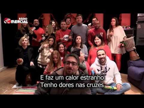 HD VIDEO - Rádio Comercial   É a Canção de Natal! 2013