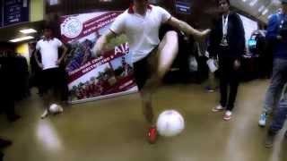 Футбольный фристайл | TOPGEAR LIVE Performance | MOSCOWFF
