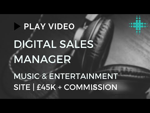 Digital Sales Manager | Music and Ents | Ultimate Asset