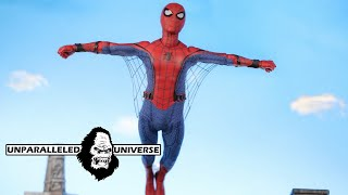 Mezco One:12 Collective Homecoming Tech Suit Spider-Man