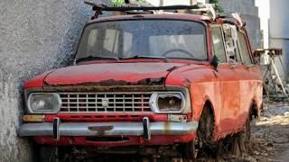 Интересные брошенные автомобили №2