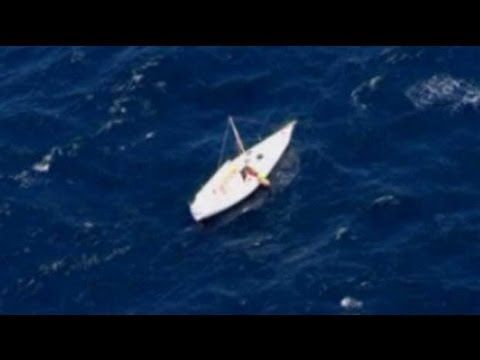 Passenger jet helps locate missing sailor