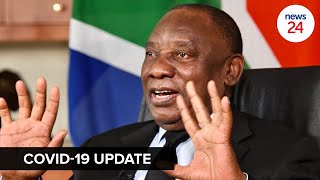 WATCH LIVE   Ramaphosa to address the nation on latest Covid-19 and lockdown regulations