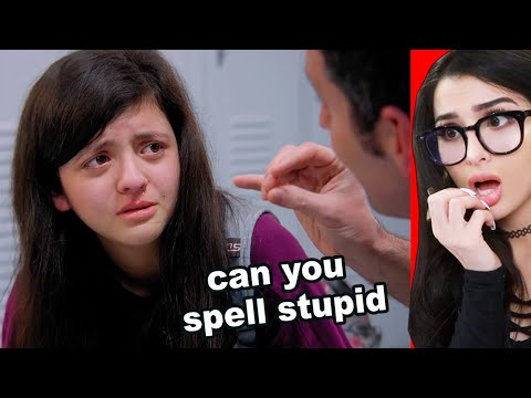 Student Bullied For Not Knowing How To Spell - SSSniperWolf