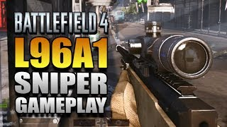 Battlefield 4 Multiplayer Gameplay on Xbox One - Battlefield 4 L96A1 Sniper Montage & Gameplay