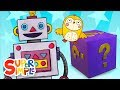 Mystery Box #1   Preschool  Song   Super Simple Songs