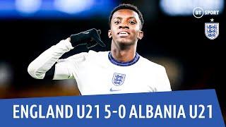 England U21 vs Albania U21 (5-0) | European U21 Qualifying Highlights