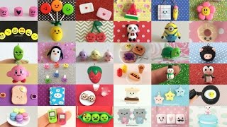 polymer clay charm compilation 53 diy tutorials