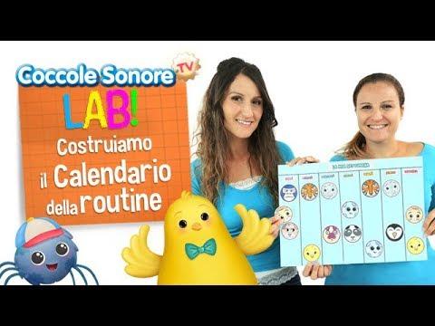 Costruiamo il calendario della routine  - Coccole Sonore Lab