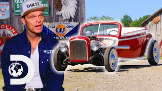 Chad Makes Custom Hotrod For Rockabilly Car Show | Bad Chad Customs