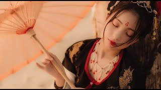 【Riri】Hướng Dẫn Làm Tóc Cổ Trang Thời Đường (2) |【中长发的汉服发型教程】