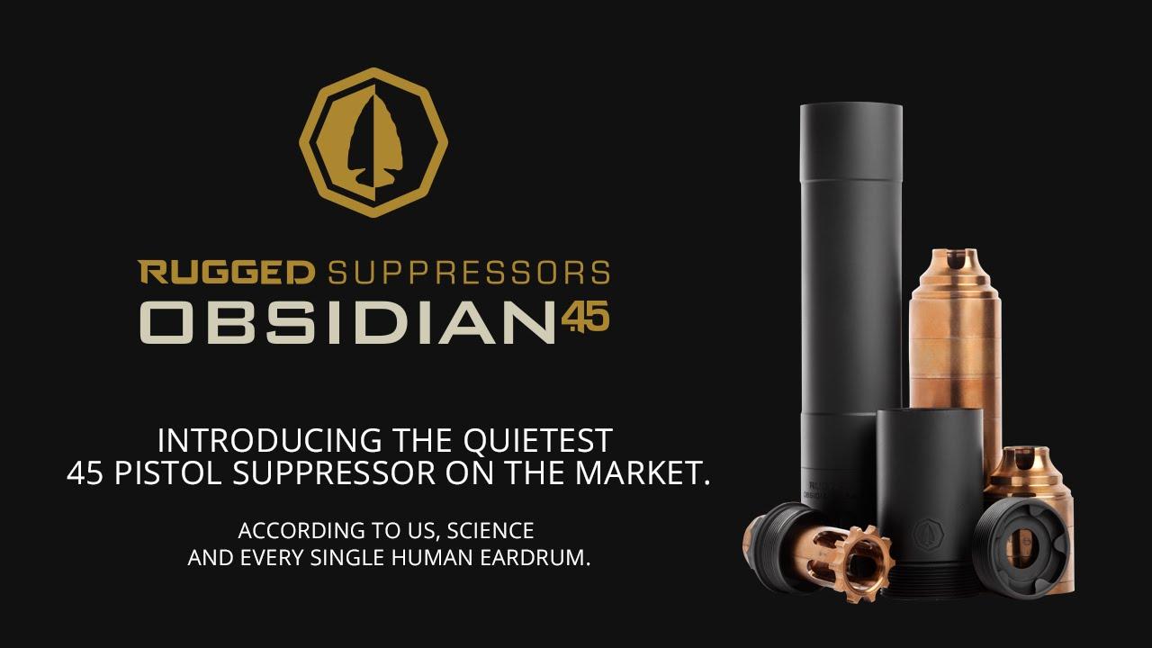 Rugged Suppressors Obsidian 45