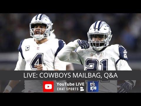 Dallas Cowboys Report  Mailbag And Q A With Tom Downey - YouTube e3da1898d