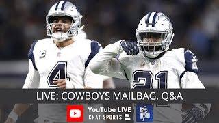 Dallas Cowboys Mailbag: New OC, Extend Ezekiel Elliott, Free Agency, Sean Lee's Future & Live Q&A