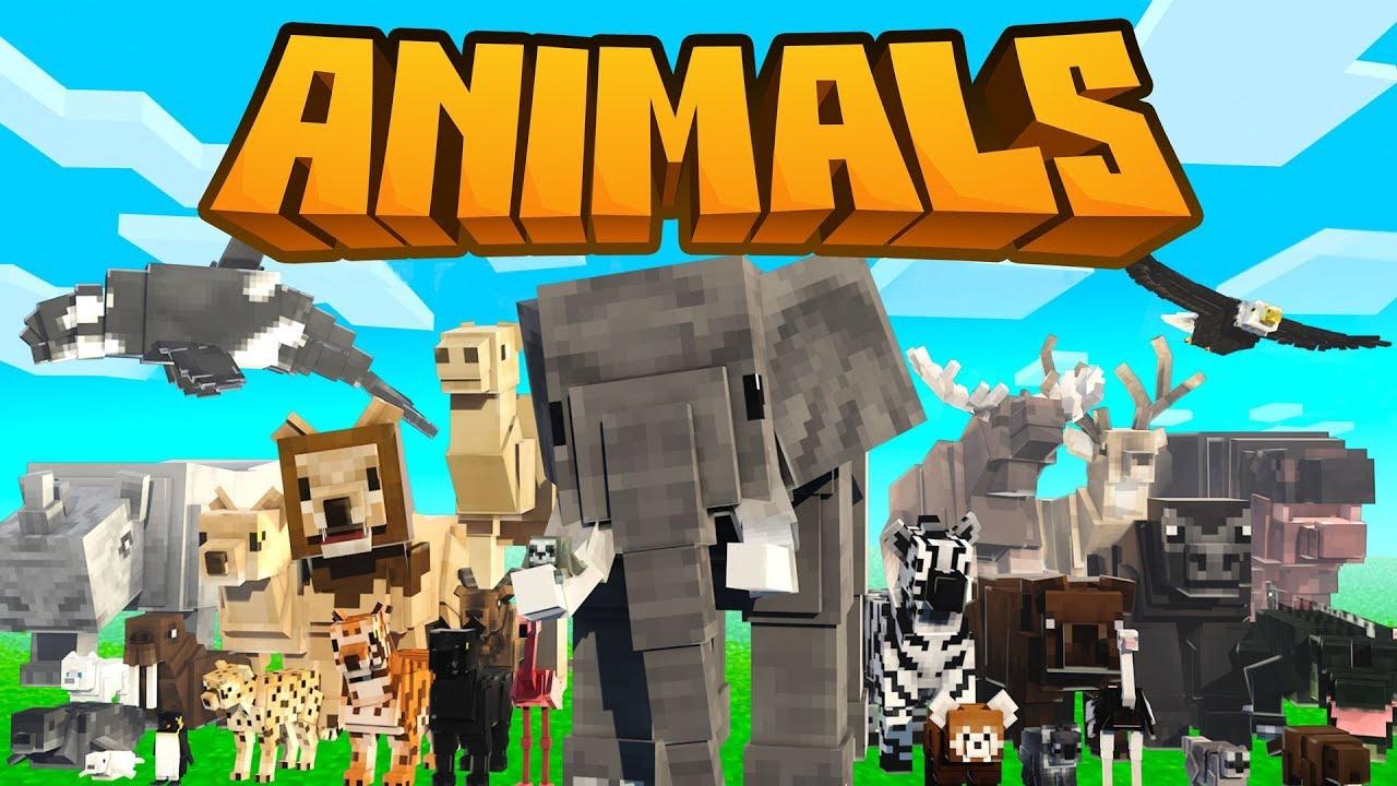 Animals Minecraft Marketplace Map