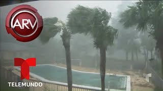 Huracán Michael arrasa todo a su paso | Al Rojo Vivo | Telemundo