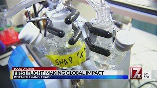 First Flight making global impact