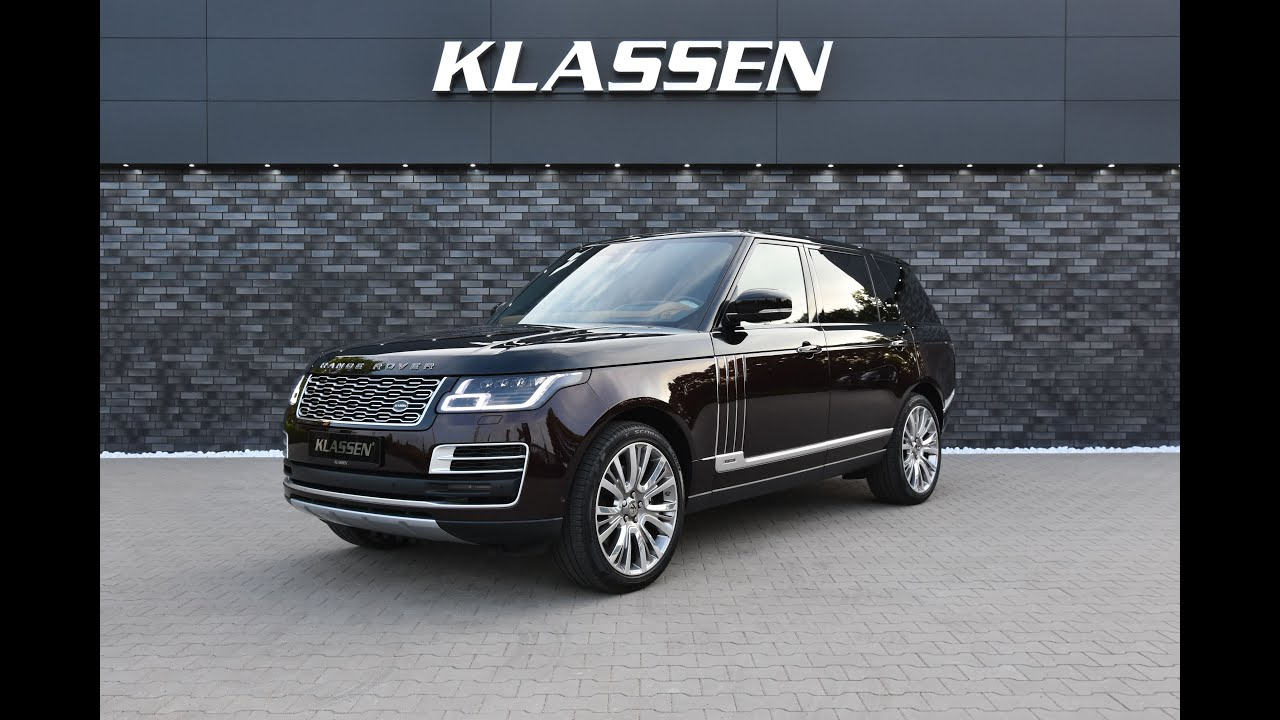 2020 Range Rover SV Autobiography L - V8 Luxury SUV with KLASSEN Partition wall LRV_1440