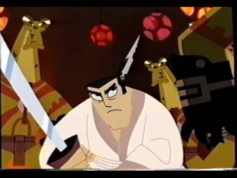 Samurai Jack The Premiere Movie 2001 Trailer Vhs Capture Youtube
